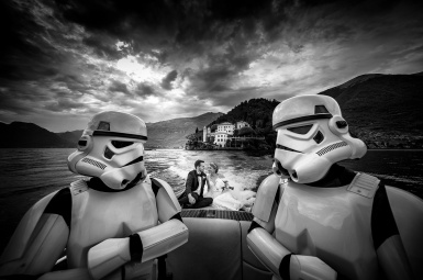 star wars wedding at villa del babianello