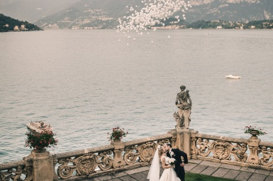 Villa del Balbianello Wedding photoshoot