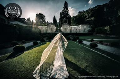Luxury wedding at Villa d'Este